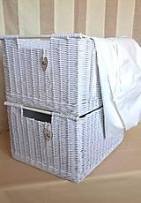 Košíky - Nadrozmerné šatníkové boxy SWET HOME / ks - 9341720_