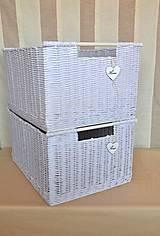 Košíky - Nadrozmerné šatníkové boxy SWET HOME / ks - 9341721_