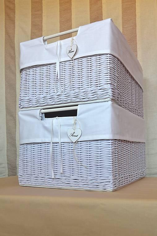 Nadrozmerné šatníkové boxy SWET HOME / ks