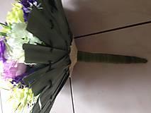 Kytice pre nevestu - Svadobno-gratulačny set-zlava - 9341642_