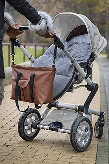Kabelky - Kabelka na kočík s vreckom - 9347247_
