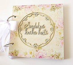 Papiernictvo - svadobná kniha hostí - 9346295_