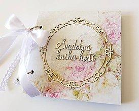 Papiernictvo - svadobná kniha hostí - 9346819_