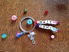 Kľúčenky - nestraťkĺúč ANJEL s menom (anjel) - 9344402_