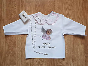 Detské oblečenie - Set na krst - 9347328_
