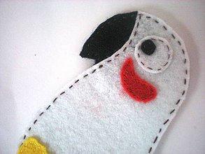 Hračky - Bábky na prsty: zvieratá (Papagáj) - 9345371_