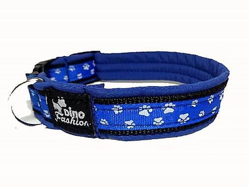 Obojok Labky blue softshell