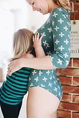 Topy - Body na dojčenie Cross - 9347136_