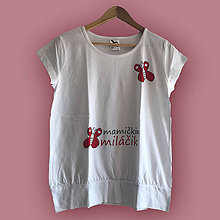 Tehotenské oblečenie - Mamičkin miláčik - tehotenské tričko - 9344247_