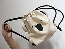 Batohy - Ušimi ruksačik koala - 9345961_