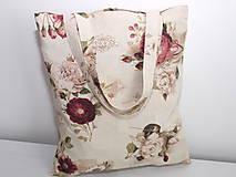 Nákupné tašky - ...vintage ruže... - 9344975_