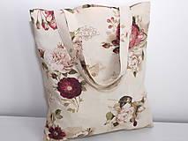 Nákupné tašky - ...vintage ruže... - 9344976_