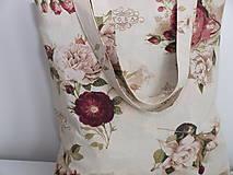 Nákupné tašky - ...vintage ruže... - 9344977_