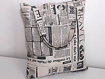 Nákupné tašky - ..noviny na režnej... - 9345354_