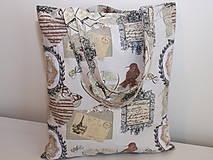 Nákupné tašky - ...vintage... - 9345386_
