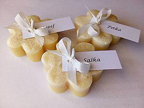 Darčeky pre svadobčanov - párty/svadobné menovky s darčekom - 9346804_