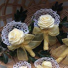 Pierka - Stredné svadobné pierka Romance - 9345891_