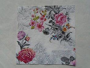 Papier - ruže - 9346182_