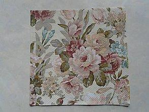 Papier - ruže - 9346203_