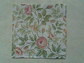 Papier - ruže - 9346415_