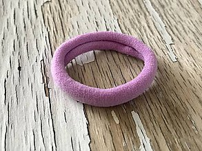 Ozdoby do vlasov - gumička k motívu-farba na výber (Fialová) - 9345172_