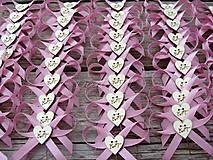 Pierka - Svadobné pierka písmenkové - 9349114_