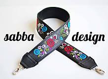 Kabelky - LEA kabelka vyšívaná (biela) - 9348861_