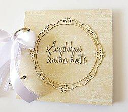 Papiernictvo - svadobná kniha hostí - 9347575_
