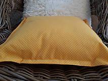 Úžitkový textil - Dekorační vankúš/obliečka ...bodky... - 9350839_