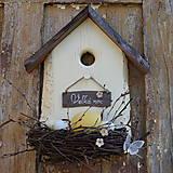 Dekorácie - Veľkonočný domček - 9348155_