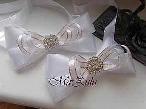 Doplnky - svadobné motýliky - 9350199_