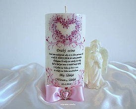 Svietidlá a sviečky - Nikdy na Teba nezabudnem - 9349936_