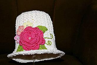 Detské čiapky - Jarný klobúčik - 9350068_
