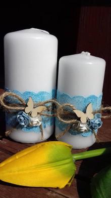 Svietidlá a sviečky - dekoračne sviečky ,, sada ,, - 9347635_