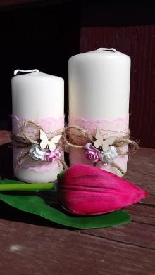 Svietidlá a sviečky - dekoračne sviečky ,, sada ,, - 9347650_