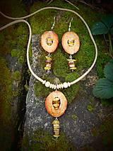 Sady šperkov - set Jantár - 9349237_
