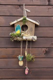 Dekorácie - veľkonočná dekorácia domček - 9350281_
