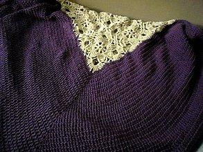 Úžitkový textil - FIALKA - zľava! - 9349430_