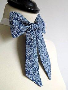 Šatky - dámska kravata s nádychom orientu - 9351370_