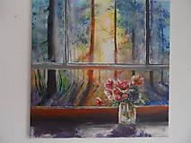 Obrazy - Pohľad z okna - 9348896_