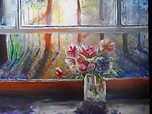 Obrazy - Pohľad z okna - 9348897_