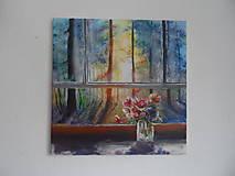 Obrazy - Pohľad z okna - 9348898_