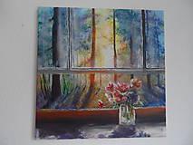 Obrazy - Pohľad z okna - 9348902_