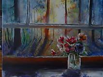 Obrazy - Pohľad z okna - 9348903_