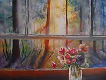 Obrazy - Pohľad z okna - 9348910_