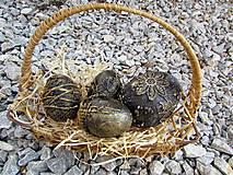 Dekorácie - Malé a stredne veľké veľkonočné vajíčko - 9349536_