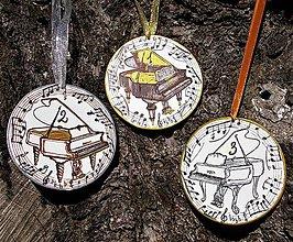 Nezaradené - Ručne kreslené medaily na klavírnu súťaž - 9347409_