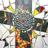 Dekorácie - Kríž vzkriesenia - 9350967_