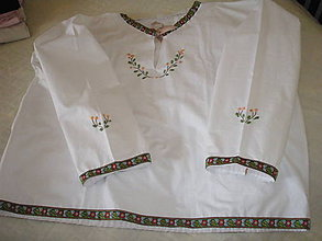 Detské oblečenie - Krojová košeľa - 9349133_
