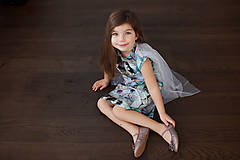 Detské oblečenie - Šaty s vlečkou - balerína I - 9348938_
